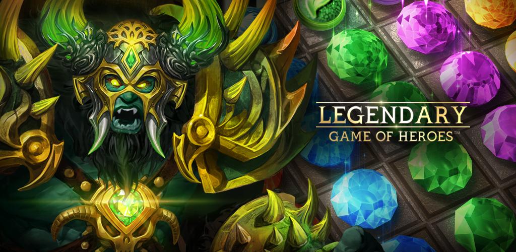 Legendary: Game of Heroes v3.7.13 Mod, Quick Win - Game nhập vai cho điện thoại