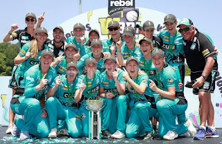 WBBL 2019-20: Brisbane Heat won the title for the 2nd consecutive time by beating the Adelaide striker in the final