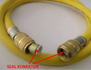 Seal konektor manifold gauge analizer