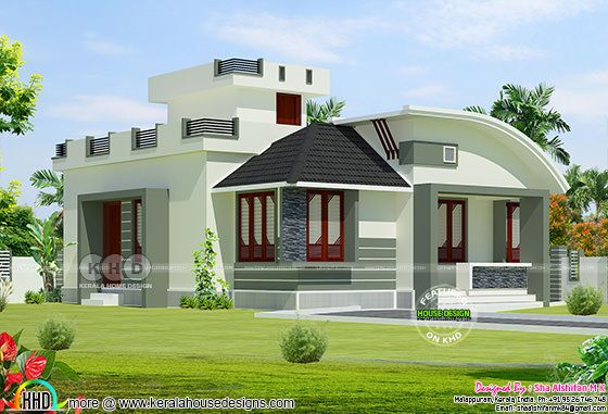Modern single storied 2 bedroom home 950 sq-ft