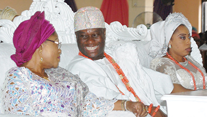 ooni ife wedding thanksgiving party