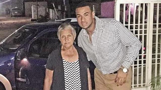 Apareció la madre del Grandeliga Elías Díaz - Policías la habían secuestrado