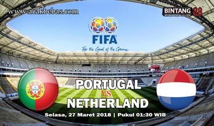 Prediksi Portugal Vs Netherlands 27 Maret 2018