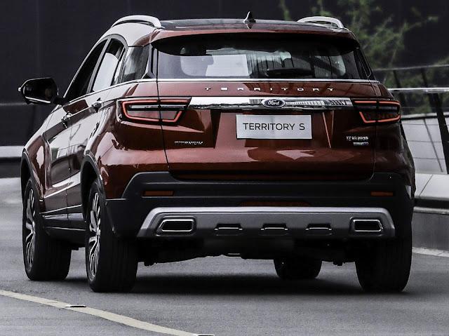 Ford Territory chega em 2020 para enfrentar o Tiguan