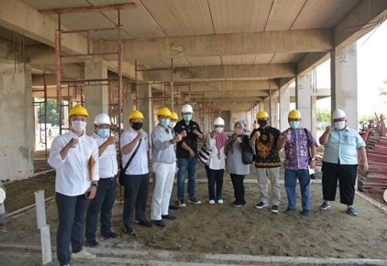 Komisi IV DPRD Jabar Tinjau Pembangunan Rusunawa di Purwakarta