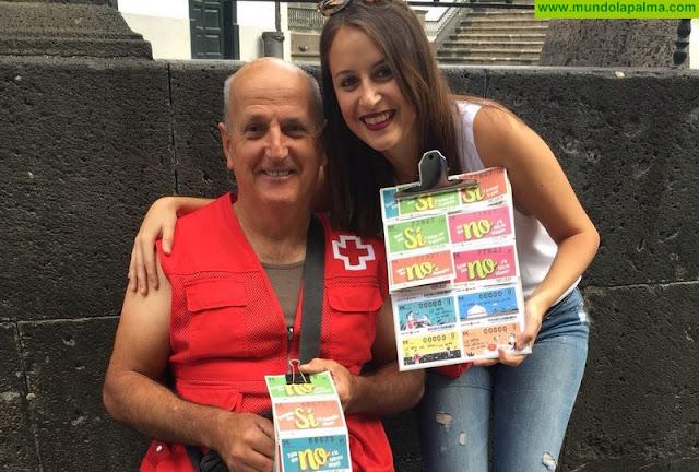 Cruz Roja en La Palma agradece a la población y a las empresas su colaboración con el Sorteo de Oro
