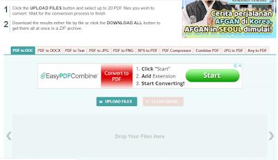 Cara Mengubah PDF ke Word Dengan Menggunakan Web PDF2DOC