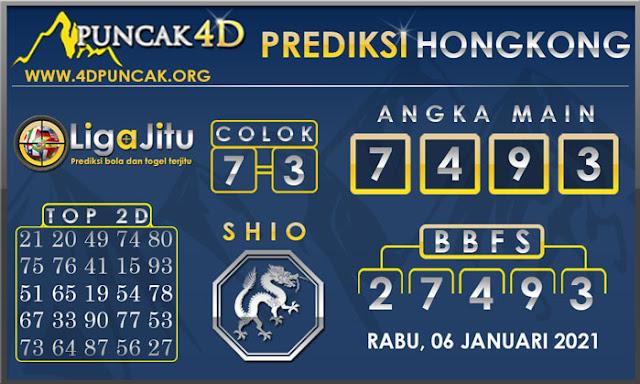 PREDIKSI TOGEL HONGKONG PUNCAK4D 06 JANUARI 2021