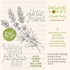Power Poppy Lavender Sprigs