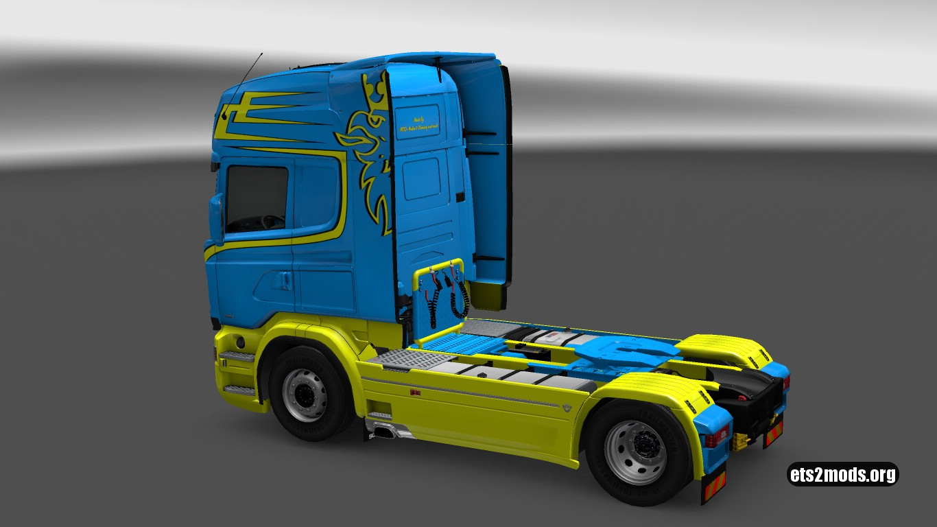 The Yellow Dutchman Skin for RJL Scania