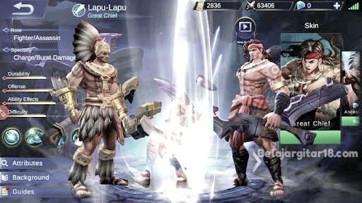 Lapu - lapu mobile legends