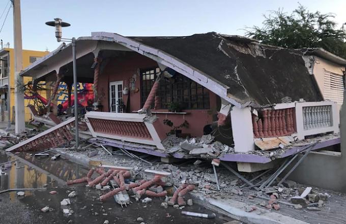 Gobierno de Puerto Rico estima en 200 millones de dólares los daños causados por terremotos en esa isla