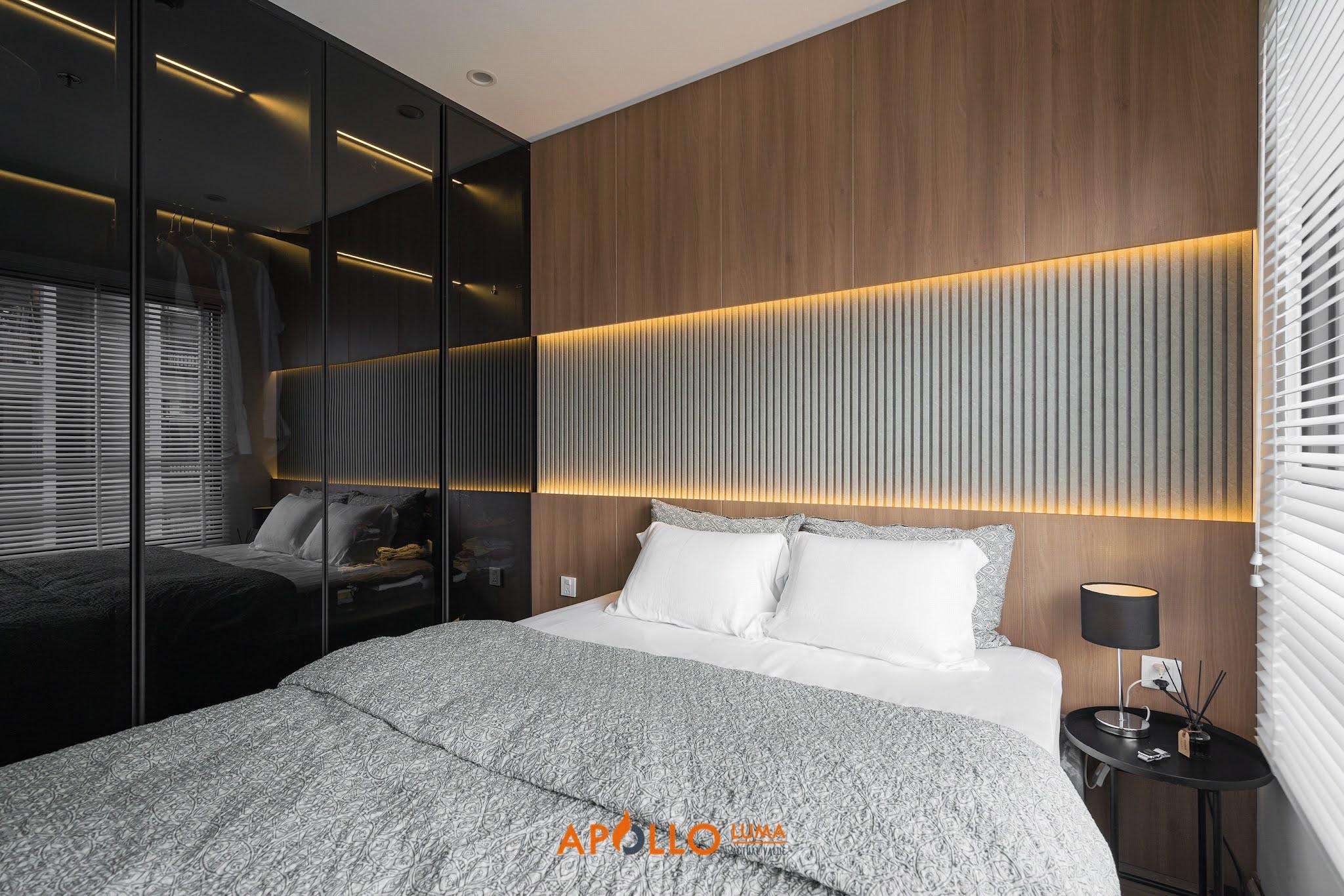 Hình ảnh nội thất thực tế căn hộ 2PN (65m2) Vinhomes Ocean Park