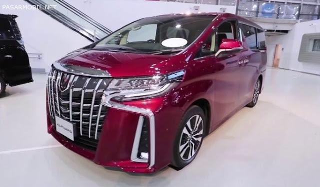 Pajak Toyota Alphard-2019