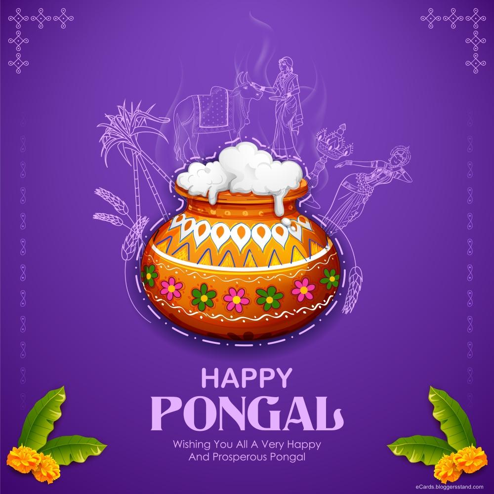 Pongal festival images 2021
