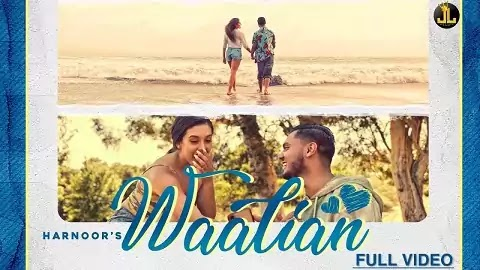 Waalian Lyrics in Hindi - Harnoor | Katierose Bae