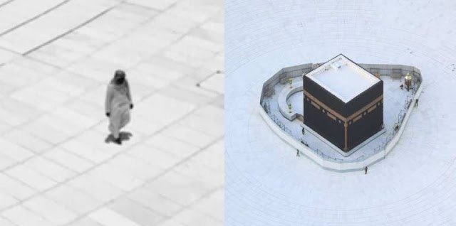 Man Performs Tawaaf Of The Holy Kaaba 'Alone' Fulfilling His 20-Year-Old Dream