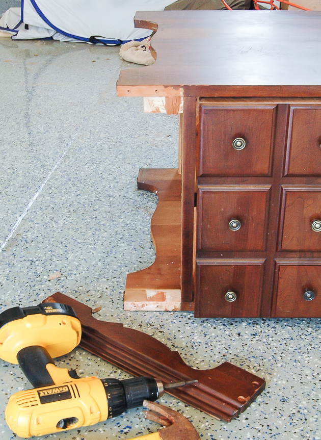 Removing Base of Goodwill Table