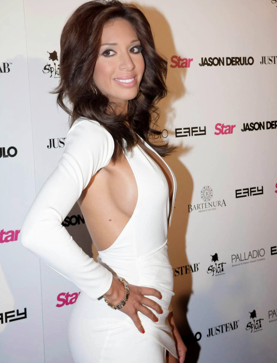 Farrah Abraham's Side Boob Is Impressive