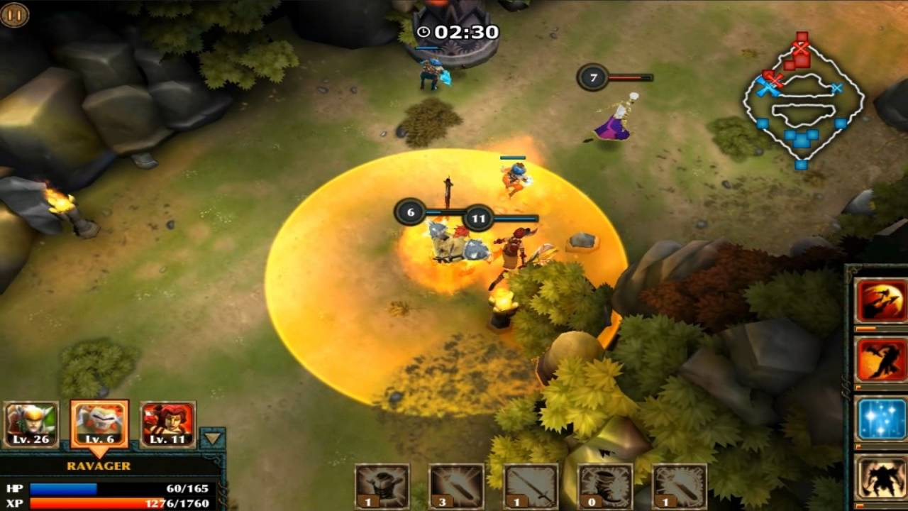 Legendary Heroes Moba 3 0 10 Mod Apk Unlimited Money Crystals