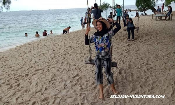 konsumsi open trip pulau harapan