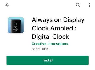 cara menaktifkan always on display di semua hp android