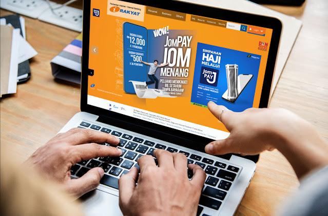Cara Transfer Duit Ke Tabung Haji Menggunakan JomPay Melalui Bank Rakyat (Tanpa Caj Tambahan)