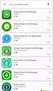 Whatsapp Status Image, Video Aur GIF Ko Kaise Download Kare