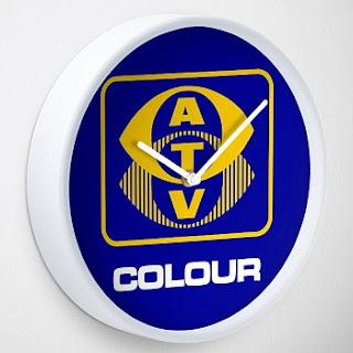 ATV Television Ident Wall Clock
