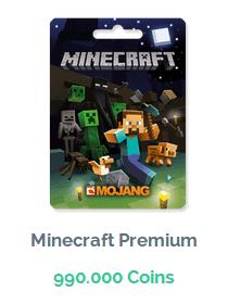Premio de MineCraft Premium