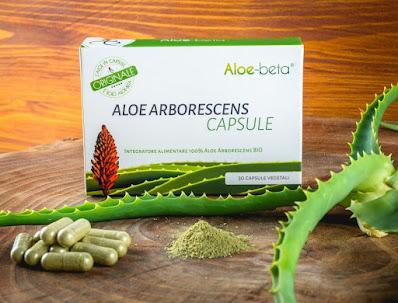 Le comode capsule vegetali permettono di assumere l'Aloe