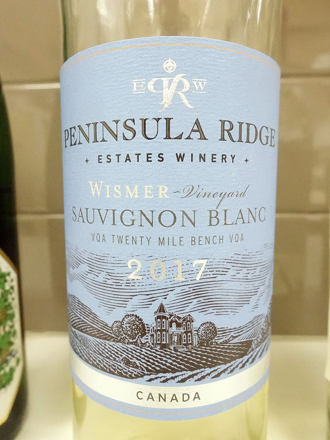 Peninsula Ridge Wismer Vineyard Sauvignon Blanc 2017 (88 pts)
