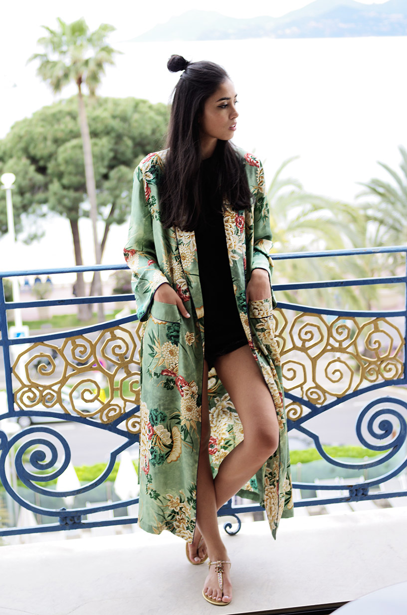 Elizabeth l Kimono Cannes outfit l blog mode hotel martinez Zara Asos Chanel l THEDEETSONE l http://thedeetsone.blogspot.fr