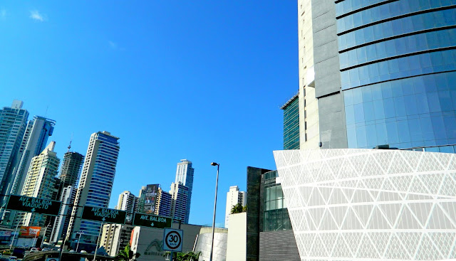 Edifícios no centro da Cidade do Panamá