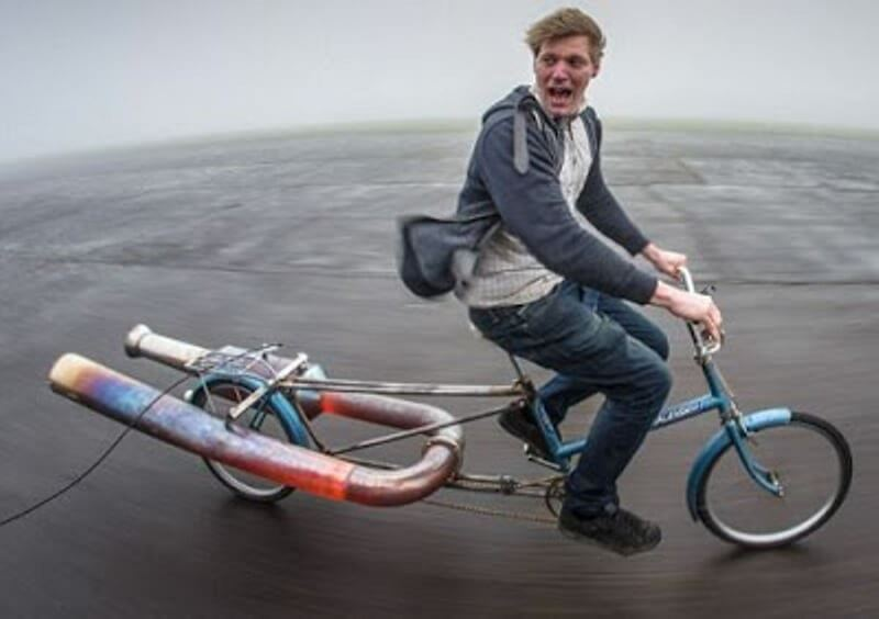 Colin Furze Scooter