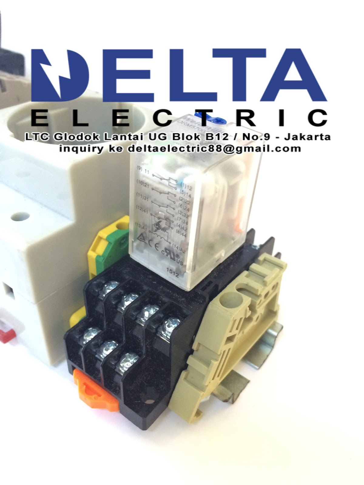 Delta Electric Relay Weidmuller By Terminal Relays Brand Lain Yg Kami Supply