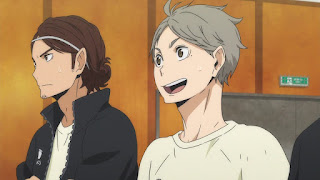 ハイキュー!! アニメ 3期10話   澤村大地 菅原孝支   HAIKYU!! Season3