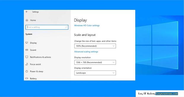 Cara Memeriksa atau Mengganti Resolusi Monitor di Windows 10