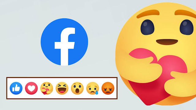 Get the new care emoji reaction on Facebook