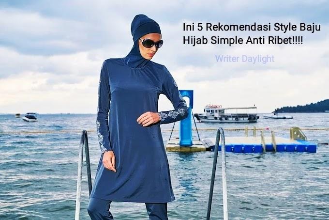 Ini 5 Rekomendasi Style Baju Hijab Simple Anti Ribet!!!!