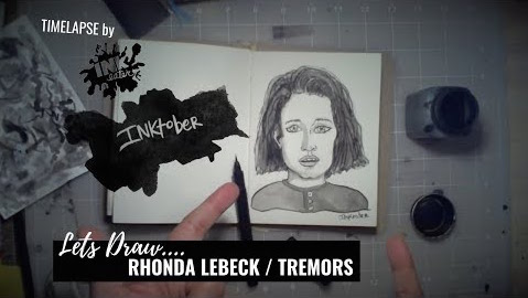 Lets US Draw Rhonda Lebeck from Tremors! - inktober 2018