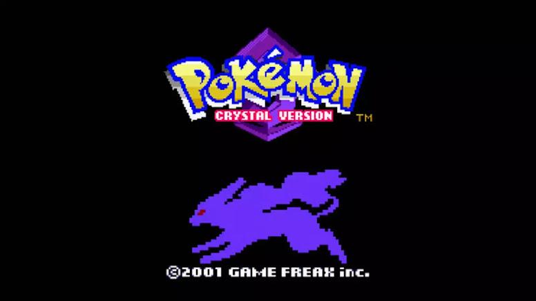 Pokémon Crystal Intro