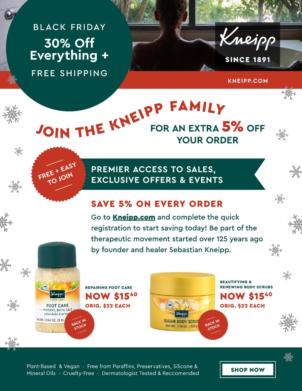 Kneipp Black Friday page 7