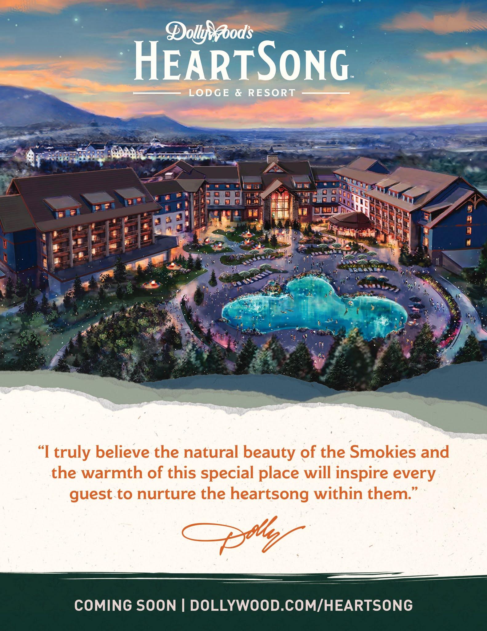 Dollywood Announces New Resort Property, Half-Billion Dollar Investment Strategy