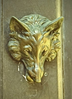 Door Knocker Wolf
