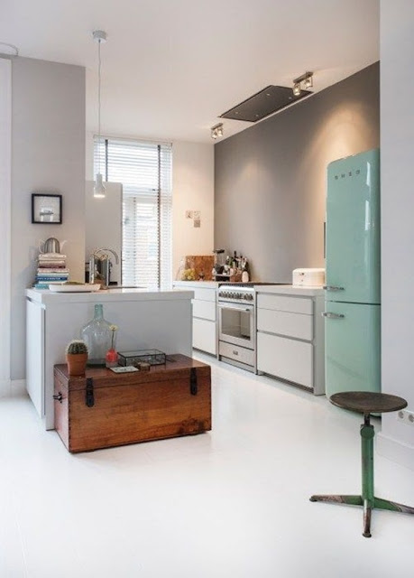 Colorful Kitchens 7
