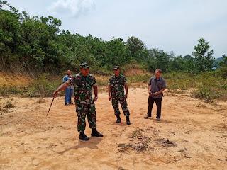 TNI Bersama Pemda Tinjau Lokasi Pembangunan Kodim Bengkayang