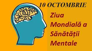 10 octombrie: Ziua Mondială a Sănătății Mentale