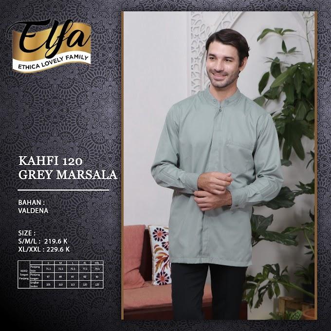 Kahfi 120 Grey Marsala