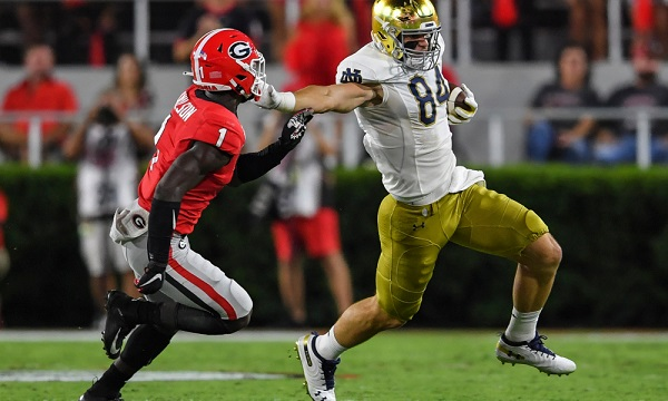 Notre Dame: The play that changed everything vs. Georgia